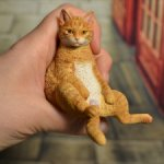 Рыжий котик от JXK Studio.