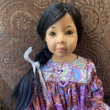 Коллекционная кукла Маурин