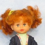 Солнечная куколка Марина.Фабрики Огонёк.