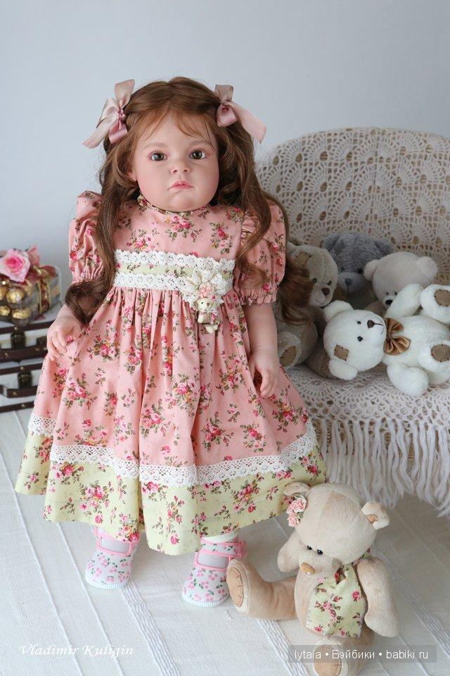 Елизавета, кукла реборн. Автор - Кулигин Владимир.
