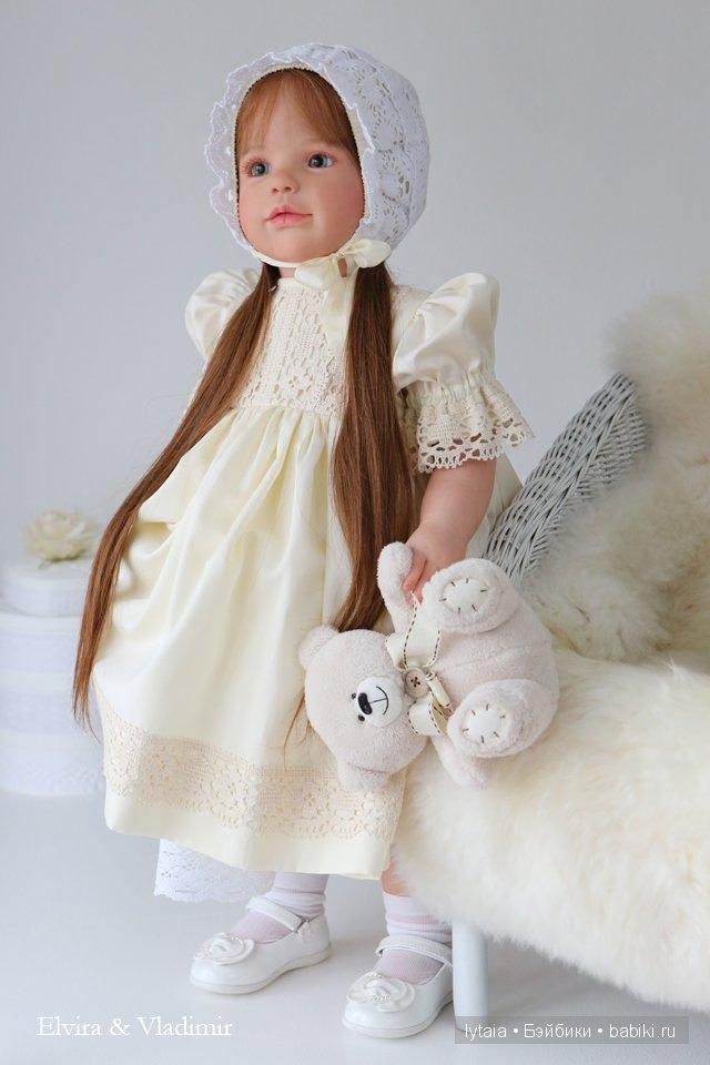 Симонетта, кукла реборн. Elvira and Vladimir.