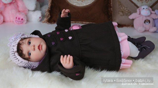 Рина, кукла реборн. Elvira and Vladimir