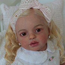 Поллианна, малышка реборн из мастерской Кулигиных