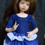 Лялька. Авторская фарфоровая кукла Ольги Фиминой