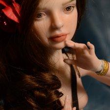 Зара. Авторская фарфоровая кукла Ольги Фиминой