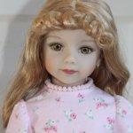 """Тёплое домашнее платье для кукол """"Maru & friends"""" 52см"""