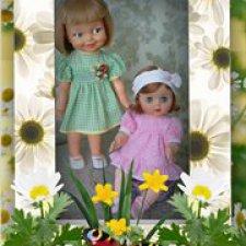 Две сестрички-конфеточки