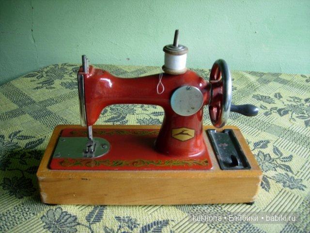 Как сделать швейную машинку своими руками для кукол