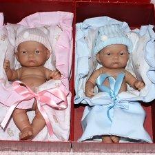 Как это было. Первые куклы от Antonio Juan 2010 год. Малыши 26-33 см