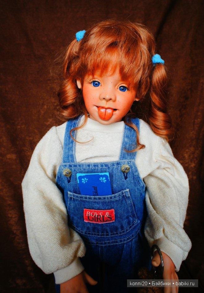 авторская фарфоровая кукла