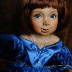 Фарфоровая куколка от Größle-Schmidt - или как мы решили пошалить и помечтать