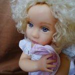 """Коллекционная кукла """"Малышка Ангел"""" от мастера Pamela Erff (из Резин, смола)"""