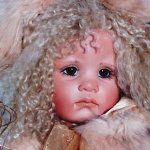 Ну просто Мусечки - фарфоровая куклы от Линда Валентино Мишель