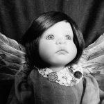 Ангелы хранители мира в семье, фарфоровые куклы от Linda Valentino Michel