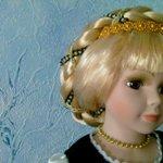 Пелагея, Рапунцель, Златовласка... Образ славянской фарфоровой красавицы от Angel Collection