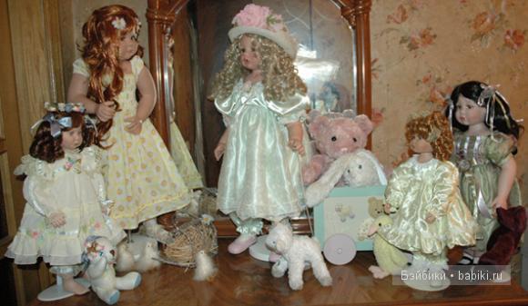 фарфоровые куклы Линды Рик, виниловые куклы Дианы Буке, Diane Bucki, Linda Rick,