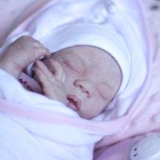 Моя маленькая Мару! Кукла реборн Даши Костенко