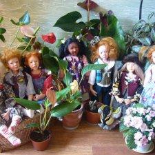 """Мои любимые, экзотические """"цветочки"""" от Sandi McAslan"""