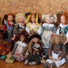 Любимые коллекционные куклы от Sandi McAslan