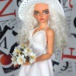 Платье и шляпка на БЖД Minifee (Минифи)