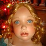 Мой Рождественский подарок, коллекционная кукла Саша для Master Piece Gallery