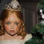 Коллекционная кукла, балерина Саша, Sasha от Margret Wirtz & Sandra Babin