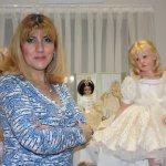 Desiree из новой коллекции 2016 года фарфор покрытый воском (WOP)  и другие фарфоровые куклы от Hildegard Gunzel. Часть третья
