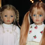 Две красавицы Femke и Marieke. Коллекционные куклы от Joke Grobben