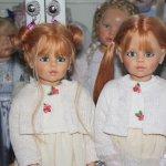 Femke близнецы! Коллекционные куклы от Joke Grobben