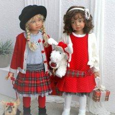 Новые коллекционные куклы от Angela Sutter. Часть вторая
