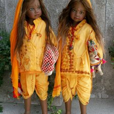 Этнические коллекционные куклы от Angela Sutter. Часть четвертая, заключительная