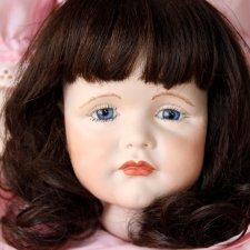 Характерная голова с телом! Винтажная реплика куклы Гретхен, Kammer & Reinhardt.