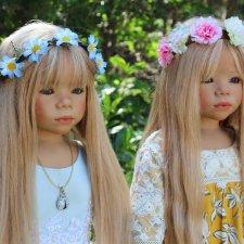 Две сестрички, две нежные Принцессы Монечки - Часть первая