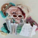Продам много всего для blythe (шапки, платья, чулки и гетры, очки). Обновление!