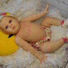 Куколка реборн  Lilli-Marlaine by Sylvia Manning. Мастерская Людмилы Скрылёвой