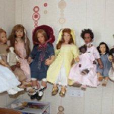 Как я решила проблему размещения больших кукол в интерьере