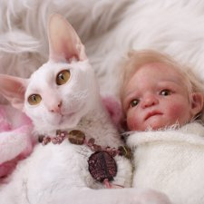 Мои новые малыши - куколки реборн
