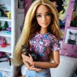 Барби fashionistas 108 на теле йоги