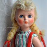 Загорская кукла СССР полностью опилки 50-60-е года, всё родное новая 48 см. СКИДКА - цена 25000!!!