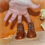Обувь для кукол Gotz классическое тело
