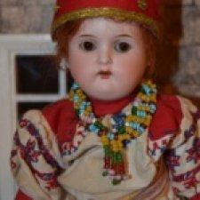 Старинная кукла в костюме одной из Губерний Российской Империи.