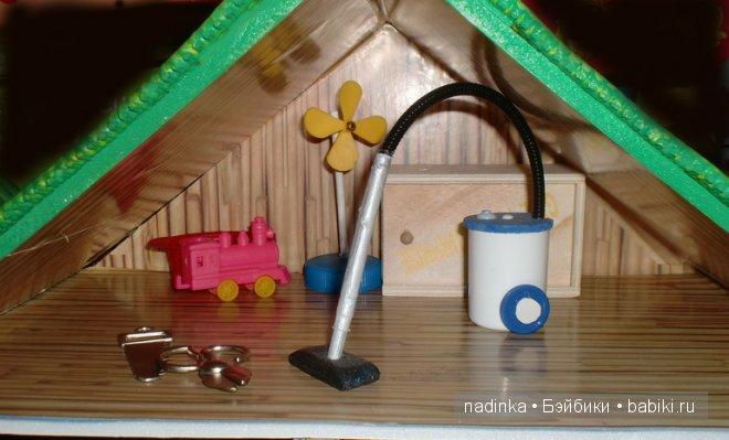 Как сделать мебель для кукол своими 61
