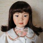Фарфоровая, коллекционная кукла Mimi, Gerlinde Stelzer