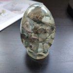 Яйцо из Ларимара. Для куколного домика.
