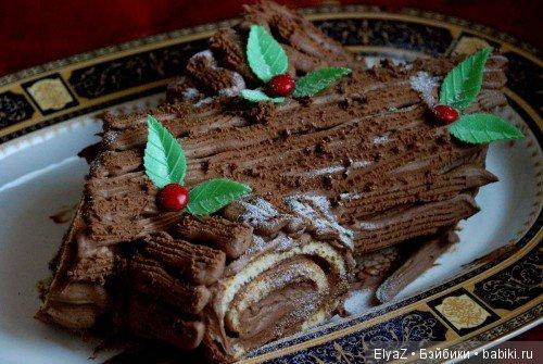 Рождественский торт фото