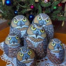 Восхитительные идеи росписи камней под птичек