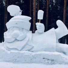 ...если зима радует снегом...