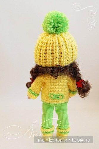 Коллекция зимней одежды для кукол BJD