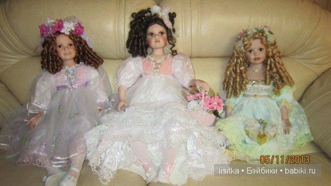 Коллекционные куклы Донны Руберт серии Мамины маленькие принцессы, Mothers littile Princess