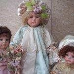 Commedia del arte в пастельных тонах. Куклы Линды Валентино-Мишель